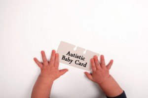 Autistic baby card