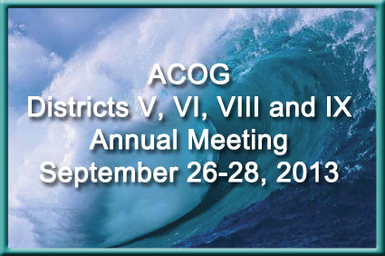 ACOG district meeting