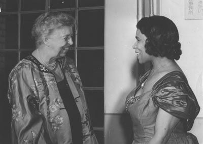 eleanor roosevelt marian anderson