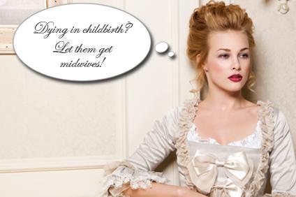 Marie Antoinette midwifery