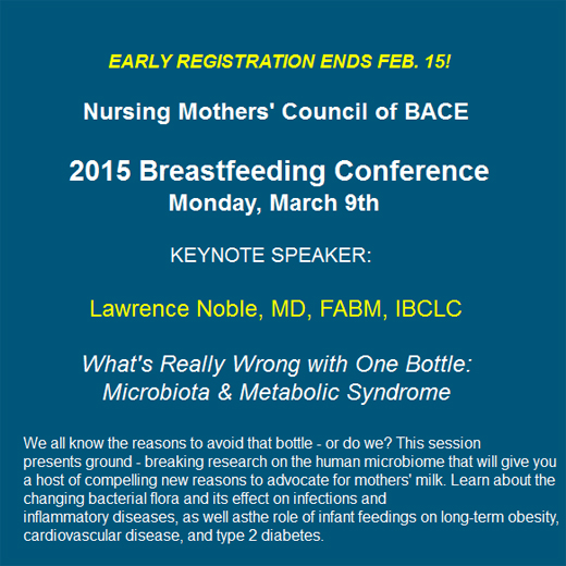 Noble breastfeeding talk