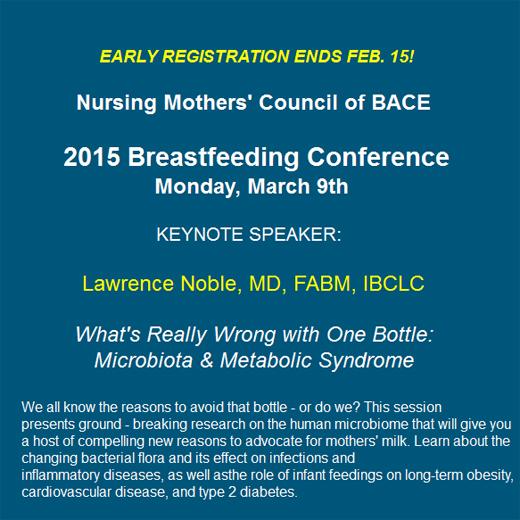 Noble breastfeeding talk