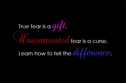 True fear is a gift copy