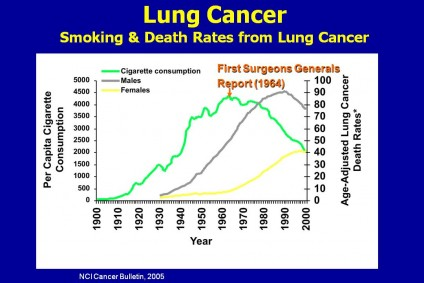 smoking lung cancer deaths