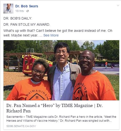 Dr Bobs award