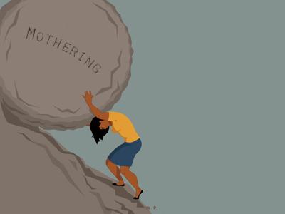 Mothering boulder