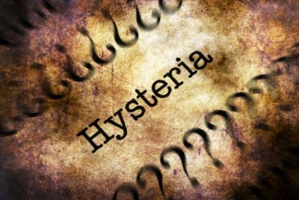 59766856 - hysteria disorder grunge concept