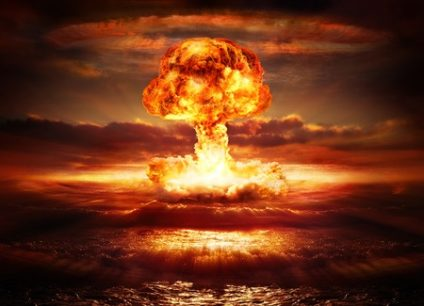 39601903 - explosion nuclear bomb in ocean