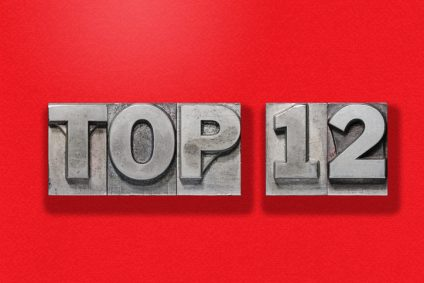 top 12 on red