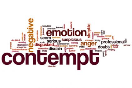 64156504 - contempt word cloud concept