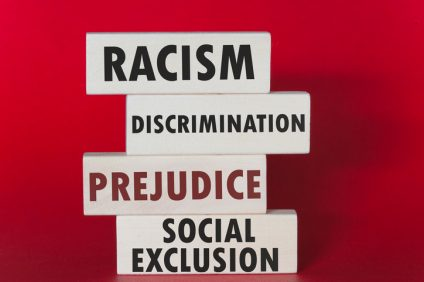 Racism, discrimination, prejudice and social exclusion message