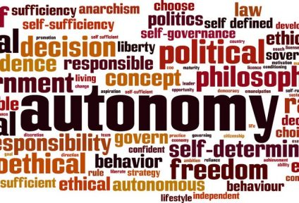 49745688 - autonomy word cloud concept. vector illustration
