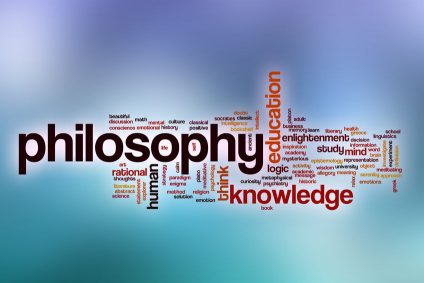 37876685 - philosophy word cloud concept with abstract background