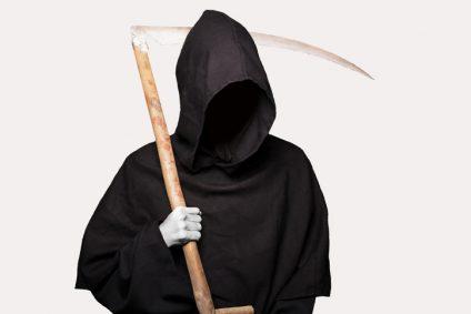 Grim reaper. Halloween
