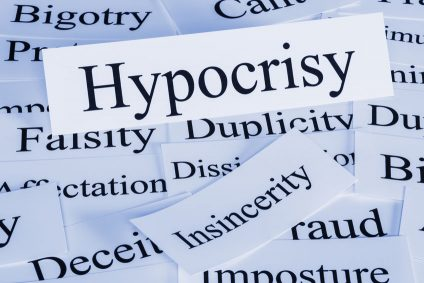 Hypocrisy Concept and Words