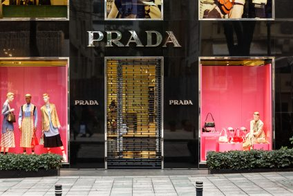Prada Store Facade at Nisantasi