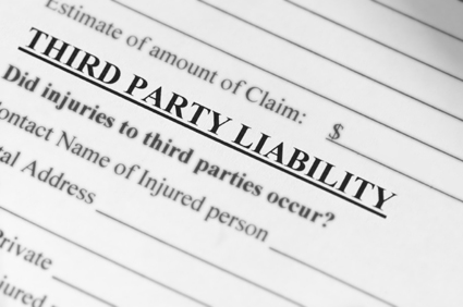 Liability claim form for a million dollars!